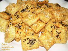 Aλμυρά μπισκοτάκια με ελαιόλαδο και τυρί
