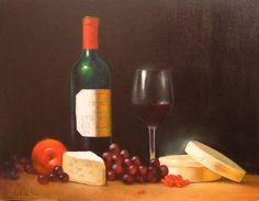 ...a good glass of wine, and cheese!