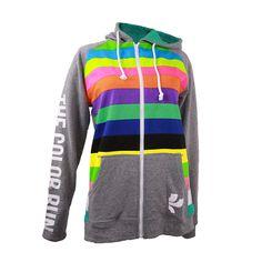 The Color Run™ Raglan Stripe Hoodie