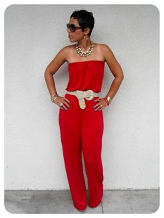 That darn Mimi G does it again.  There's a tutorial on how to make this DIY jumpsuit. Says previous pinner...
