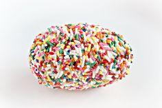 Rice krispie Easter eggs with sprinkles!
