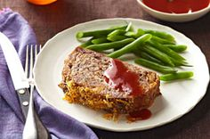 Apple Meatloaf with Cider-Ketchup