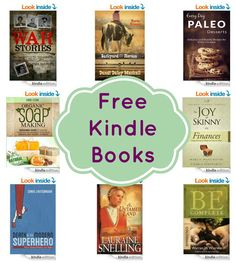 16 FREE Kindle Books: Horse Dreams, War Stories, Organic Soap Making, & More!
