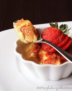 White chocolate creme brulee! Need I say more?