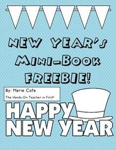 Happy New Year! Mini booklet (FREE)