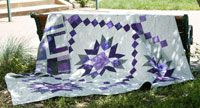 Bailey by Lori Baker in Best Fat Quarter Quilts 2014.