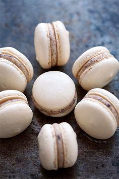 Almond Cookie Dough Macarons