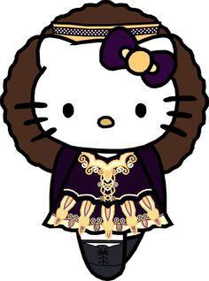 oh my goodness... Irish Dance Hello Kitty