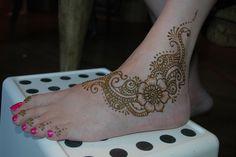 Sam's bridal foot