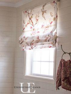 Master Bathroom Renovation on a BUDGET and NO sew roman shade