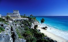 Tulum Ruins in the Yucatan, Mexico.