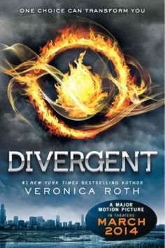 Divergent by Veronica Roth.  Click the cover image to check out or request the bestsellers kindle.