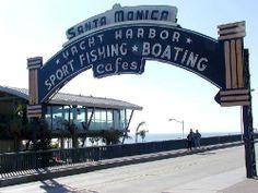 monica pier, rout 66, los angel, california dream, santa monica, route 66, place, ferris wheels, california adventur