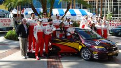 2012 Toyota Pro/Celebrity group shot. #TPCR