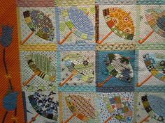 Yokohama Quilt Show - umbrella quilt