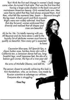 My favourite female star right now is Tina Fey who oozes personality and wisdom in an unconventional but engaging way. Brains & wit? Seriously, who can beat that?