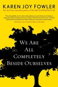 We are all completely beside ourselves - Coming of age in middle America, eighteen-year-old Rosemary evaluates how her entire youth was defined by the presence and forced removal of an endearing chimpanzee who was secretly regarded as a family member and who Rosemary loved as a sister.