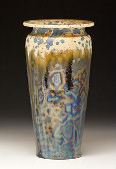 Vases made by Bulldog Pottery  Seagrove, North Carolina  www.bulldogpottery.com