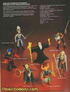 Dungeons & Dragons Figures