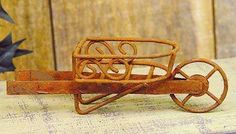 scroll wheelbarrow #fairygarden