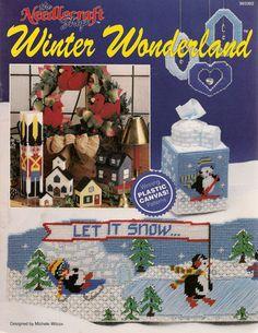 Winter Wonderland Plastic Canvas Book by needlecraftsupershop, $9.99