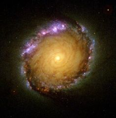 Barred Spiral Galaxy NGC 1512 in Many Wavelengths (2001) | Flickr -Euclid vanderKroew