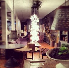 Lovely Lighting at BoBo  High Point Fall Market 2013 | Apartment Therapy Maxwell Ryan  #HPMKT #HPMKT2013 #Fall