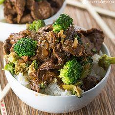 Broccoli Beef Stir Fry from @CenterCutCook