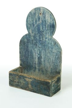 mid 19th century, pine wall box