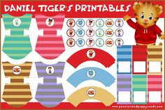 Daniel Tiger's Neighborhood Printables