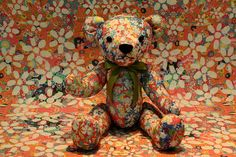 Blending In   Teddy blending into his background. Photo taken at the Teddy Bear Museum on Jeju-do, South Korea