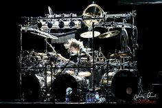 Mike Mangini from Dream Theater. Photo by Luigi Orru
