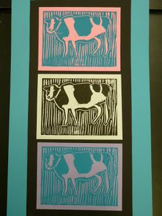 The Calvert Canvas: Adventures in Middle School Art!: Animal Printmaking