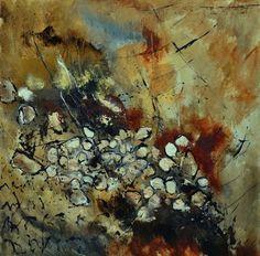 "Saatchi Online Artist: Pol Ledent; Oil, 2012, Painting ""snow in ardenne"""