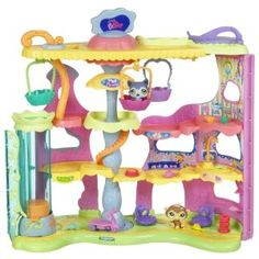 Littlest Pet Shop Round N Round Pet Town Playset