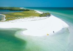 The pristine beauty of Caladesi Island State Park, Fla. (From: 8 American Islands With Warm Weather All Year Long)