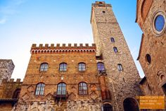 Tower House in San Gimignano Italy