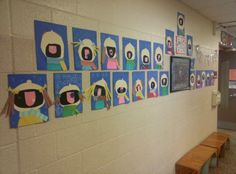 Writing Workshop:  Quiet Ten {And Our CUTE Hall Display!}