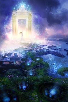 Magical portal philip straub, the doors, magic, fantasi, art, fairi, blog, avatar, light