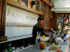 Polite Provisions in San Diego >> a speak easy bar where the drinks come from the prohibition era and the happy hour starts at 11:30 am. Sounds like my kinda place. Wish I knew about this place when I lived in SD!