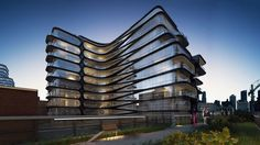 zaha hadid unveils luxury condo along new york's high line