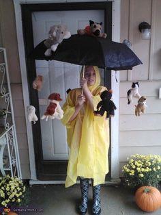 It's Raining Cat and Dogs - Halloween Costume Idea