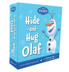 It is like the elf on the shelf. I will be getting one for my classroom. This is on pre-order right now on Amazon. Frozen Hide-and-Hug Olaf: A Fun Family Experience!:Amazon:Books