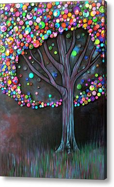 Button Tree...love this idea