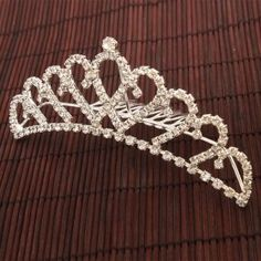 For Halloween : Crown Comb Tiara only $4.24.