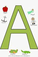 School Time Snippets: ABC Word Posters {Free Printable} Pinned by SOS Inc. Resources. Follow all our boards at pinterest.com/sostherapy/ for therapy resources.