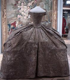1744 Catherine the Great's wedding dress
