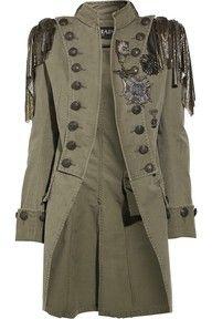 Military uniform.