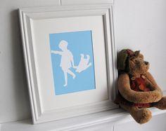 Christopher Robin & Winnie the Pooh - Nursery Art Print (Classic Pooh)