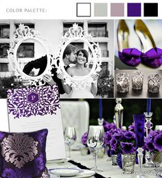 royal purple wedding